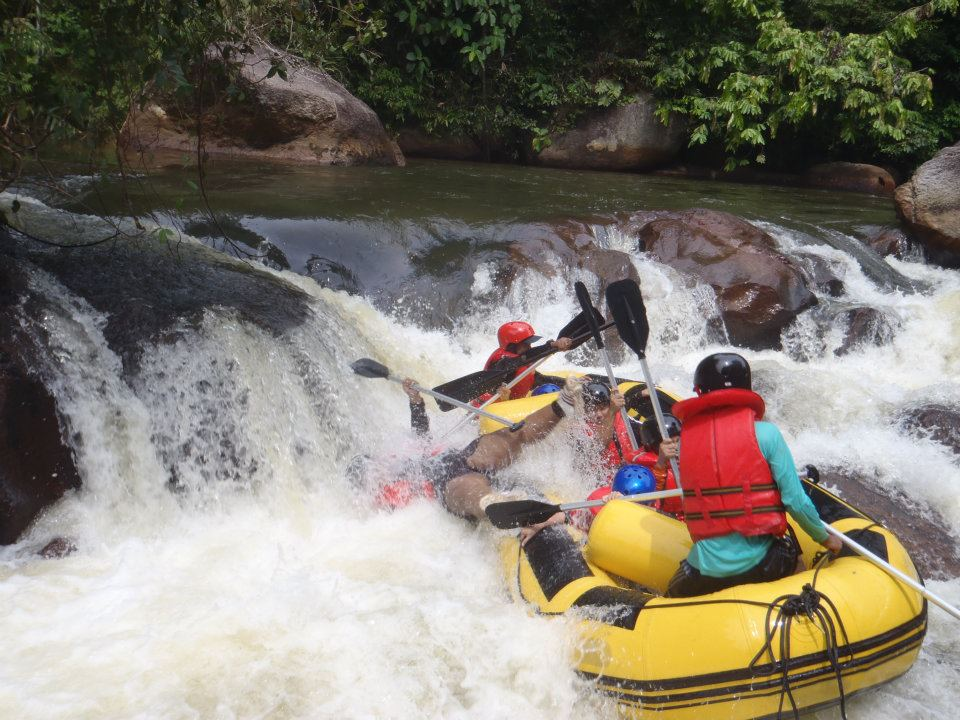Whitewater rafting famous site (Picture from website)