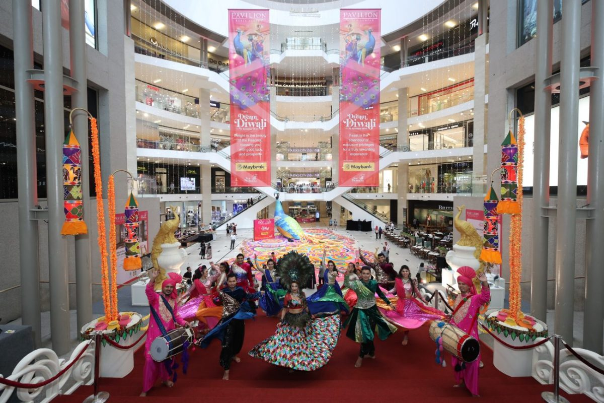 Pavilion REIT Malls Light Up in Style This Deepavali