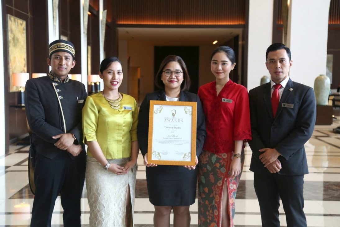 Fairmont Jakarta Received World Luxury Hotel Awards 2018 (3)