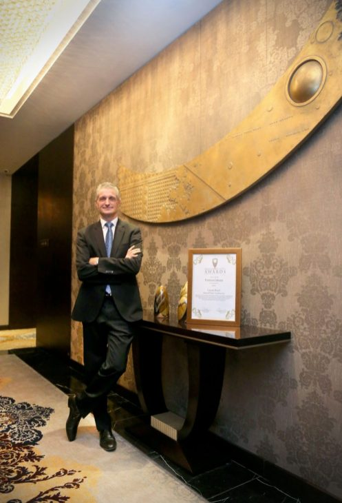 """The hotel is granted the title of """"Best Luxury Hotel in the Region"""""""