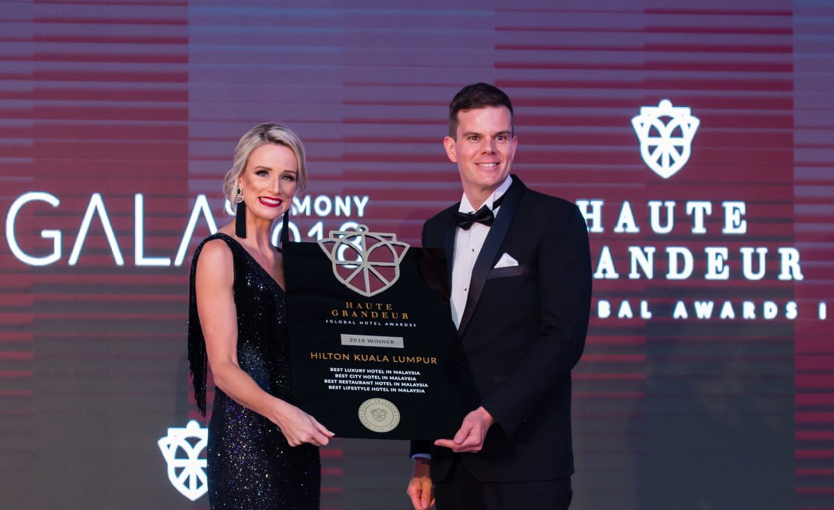 Hilton Kuala Lumpur Ends the Year with Prestigious Haute Grandeur Global Hotel Awards™
