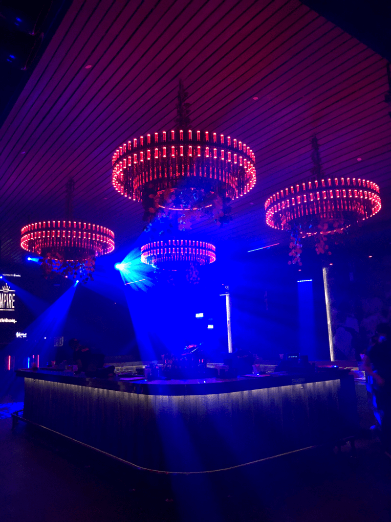 Empire by Zouk decorations