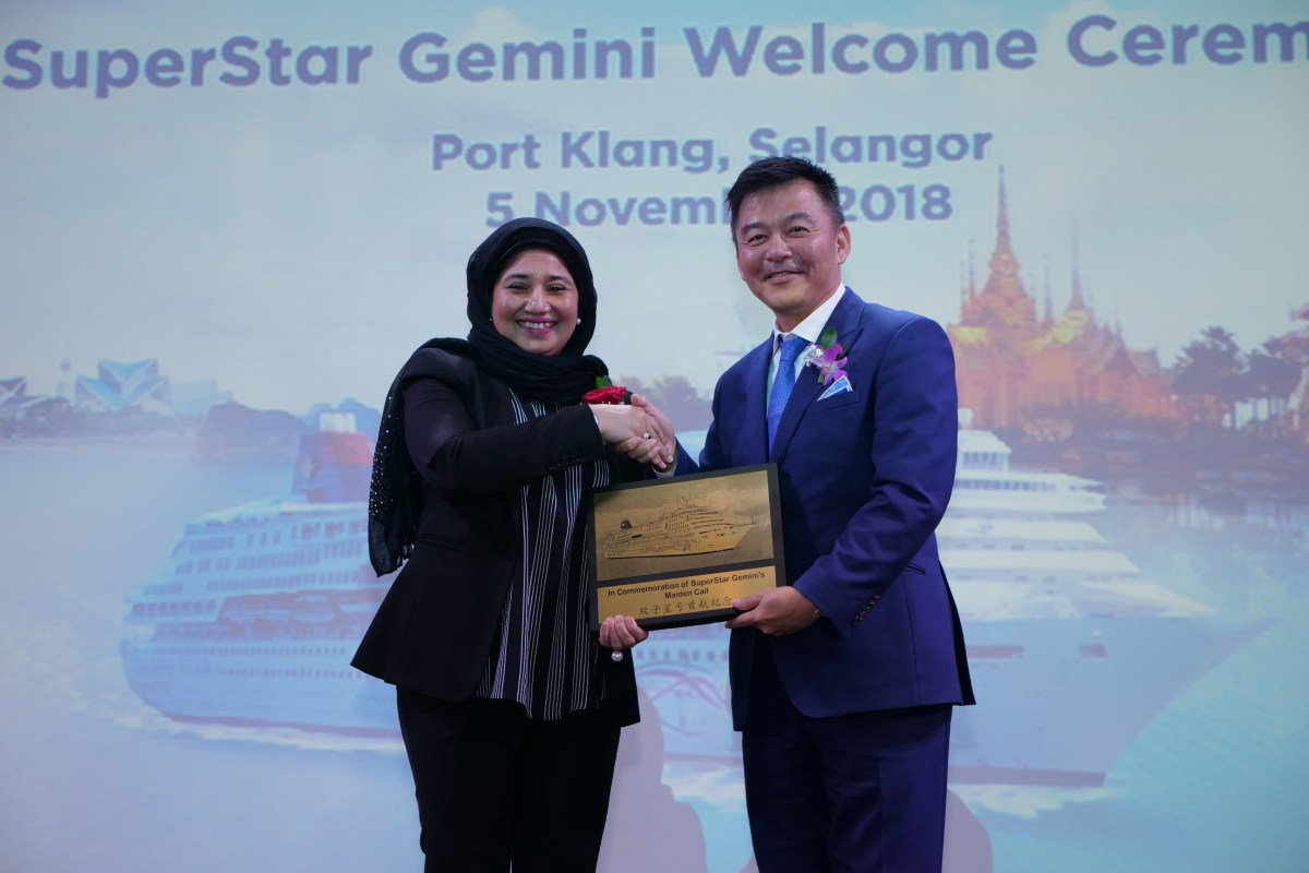 Genting Cruise Lines Offers New Cruise Vacations from Malaysia with Star Cruises' SuperStar Gemini