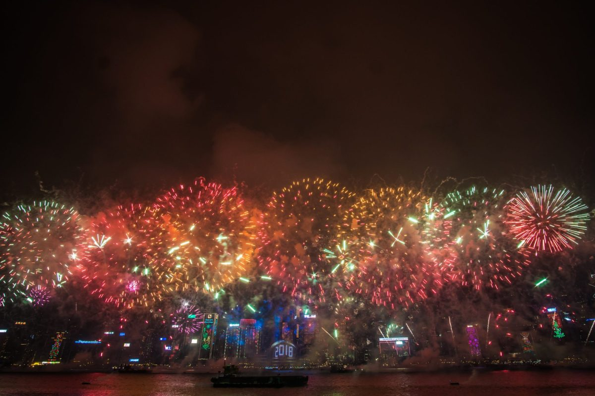One of the Most Celebrated New Year Countdown Celebrations in Asia Hong Kong Welcomes 2019 with Pyromusical over Victoria Harbour