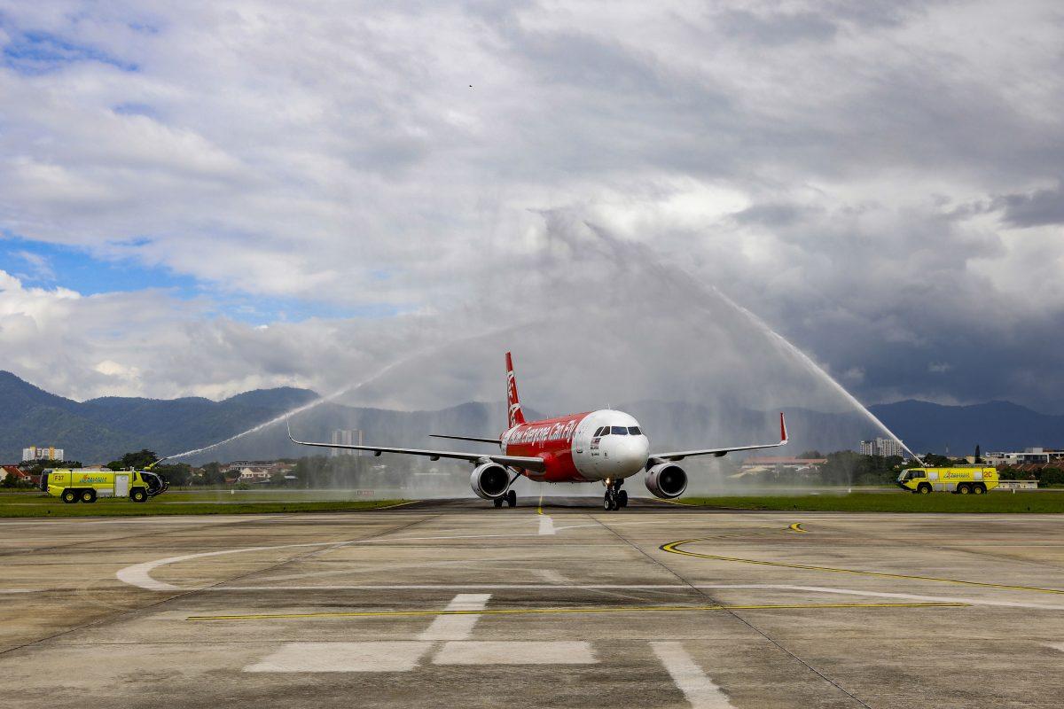 AirAsia's Singapore-Ipoh service takes off