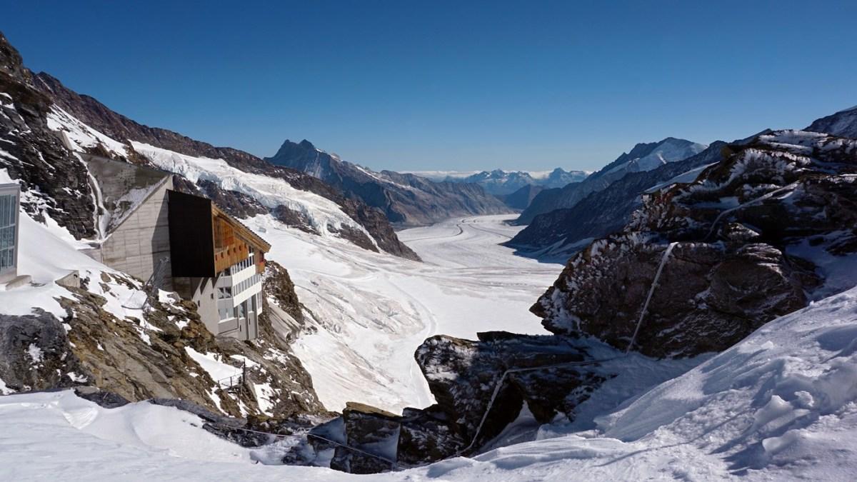 Jungfraujoch Aletsch Glacier