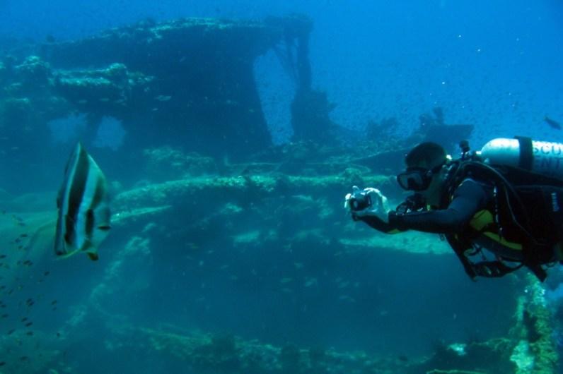 Wreck Diving in Kuching