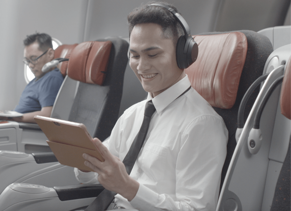 AirAsia adds Sony noise-cancelling headphones to Premium Flatbed