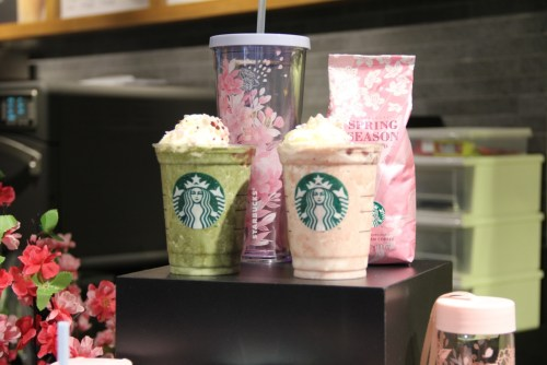 Capture Flavors in Bloom with new Springtime Favorites from Starbucks