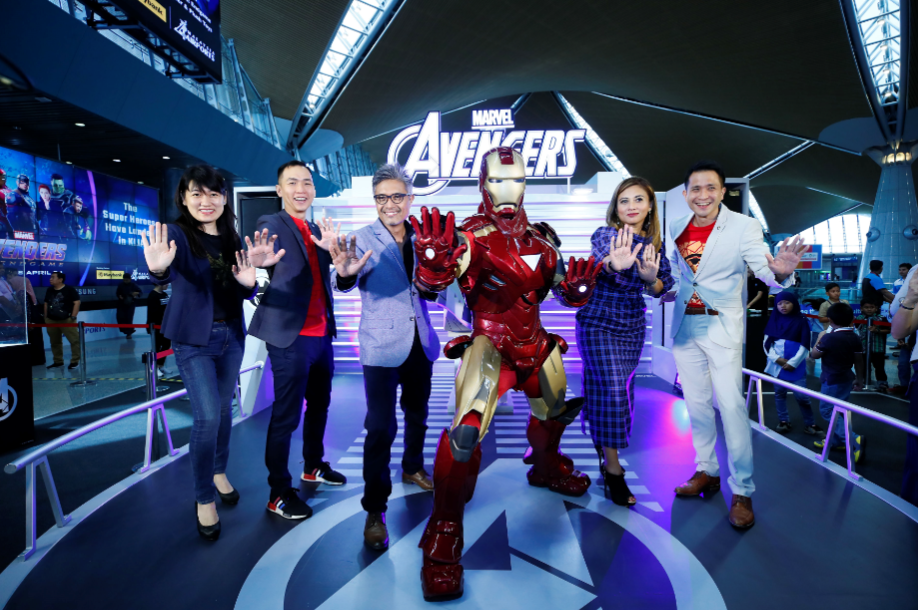 "Avengers Assemble at KUL to Kick-Off The ""Marvel Super Heroes Have Landed"" Campaign"