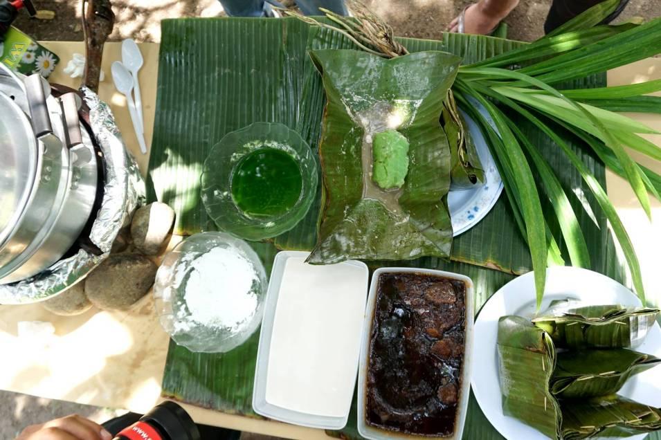 Ingredients for Kuih Jongkong