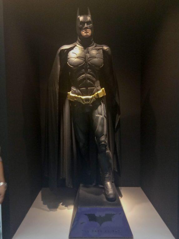 Replica of statue of Batman from the Dark Knight movie