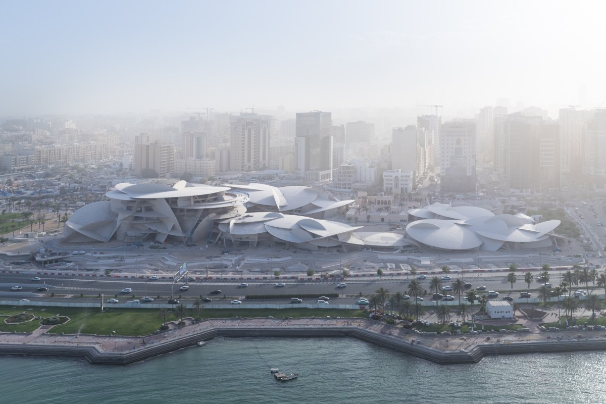 The New National Museum of Qatar Now Open to the Public