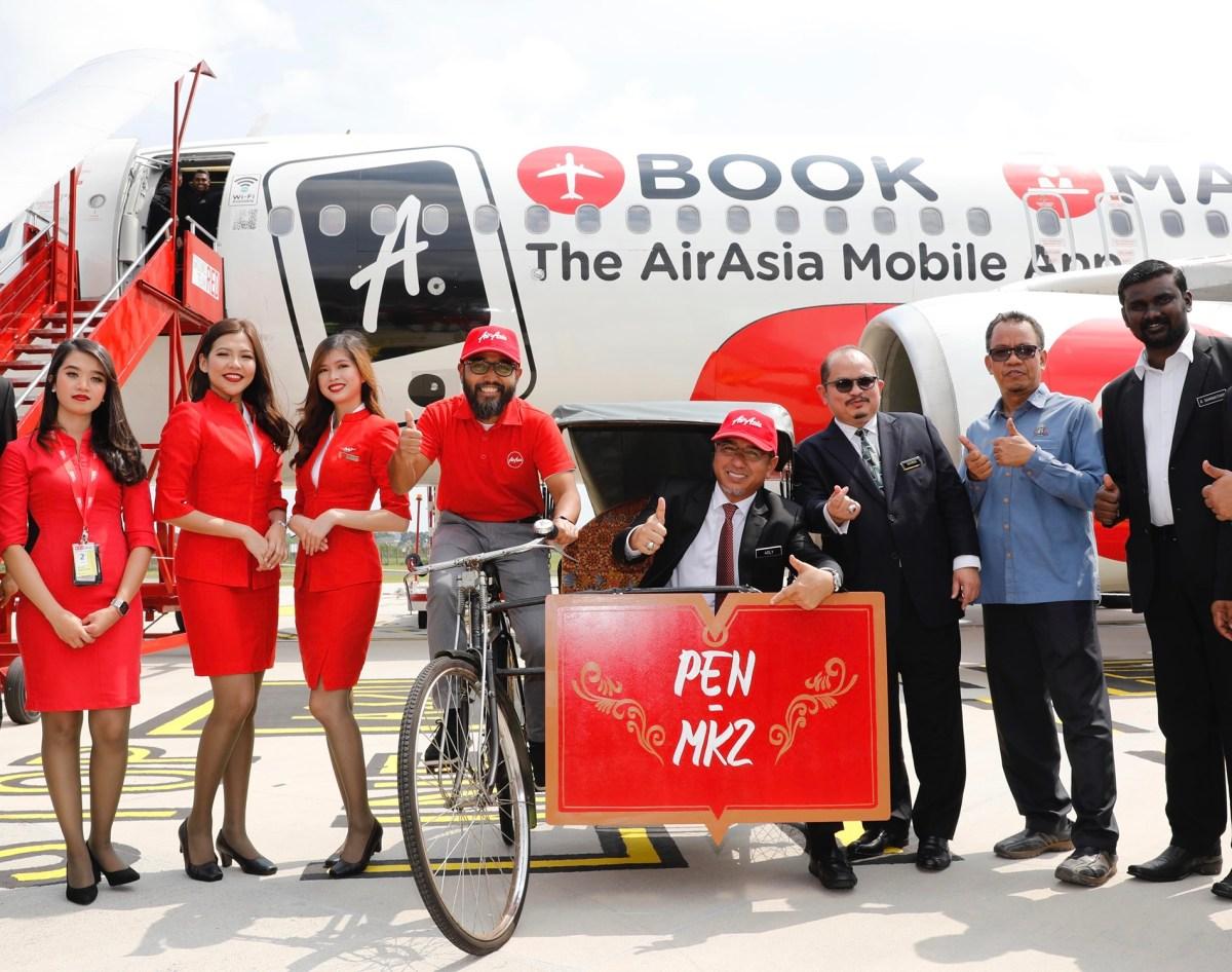 AirAsia Welcomes Inaugural Flight to Melaka