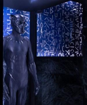 Original Black Panther Costume worn by Chadwick Boseman in Marvel Studios' Black Panther (2018)