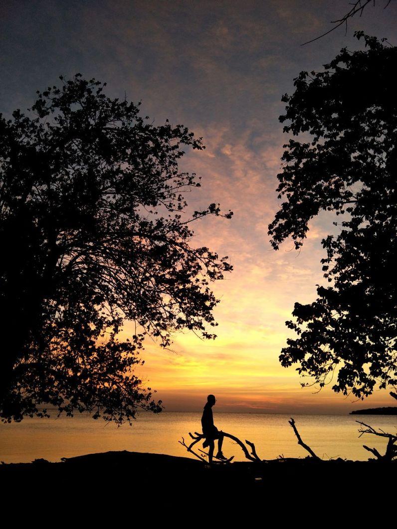 Sunset at Moyo Island