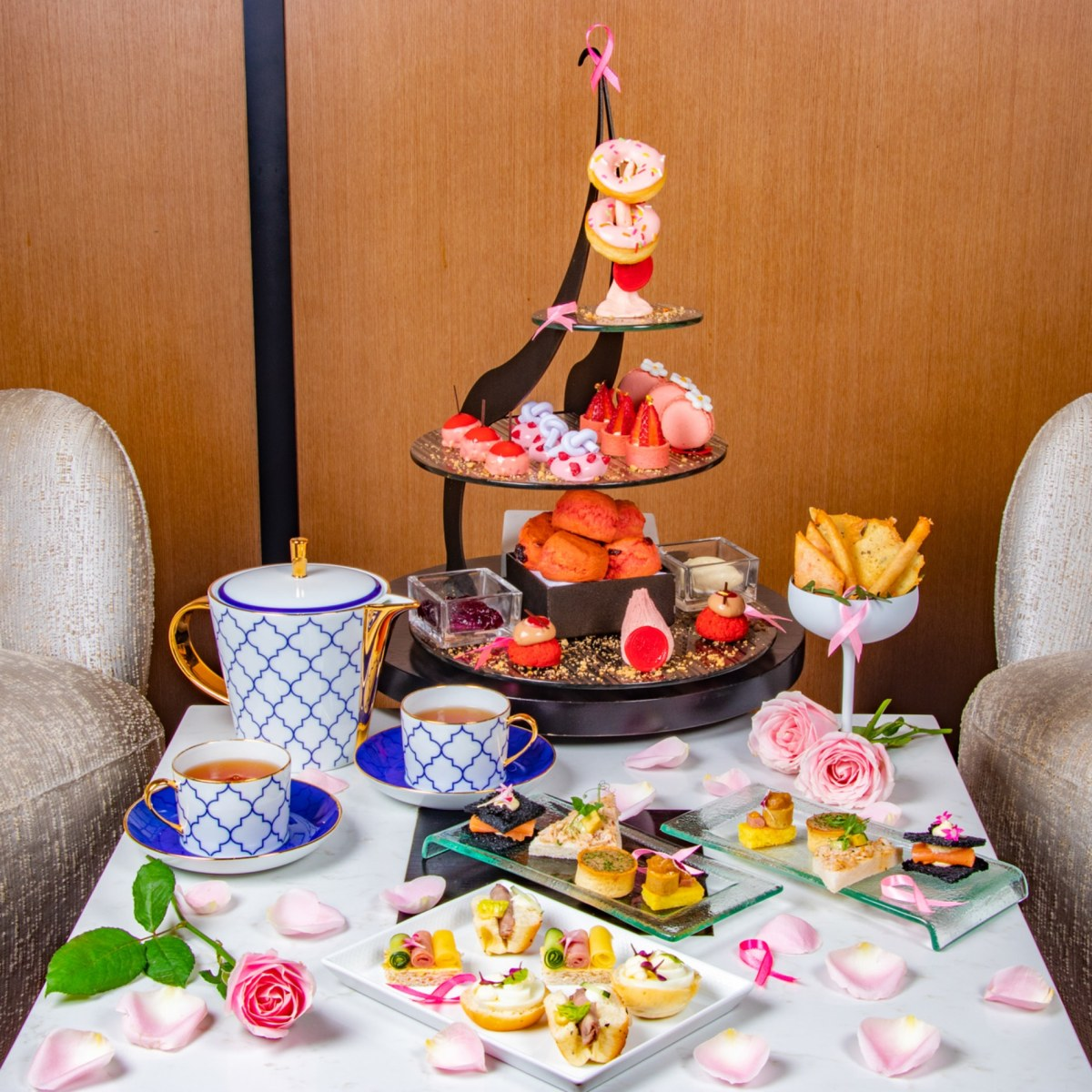"Afternoon Tea Takes on A ""Pink"" Spin This October at Banyan Tree Kuala Lumpur"