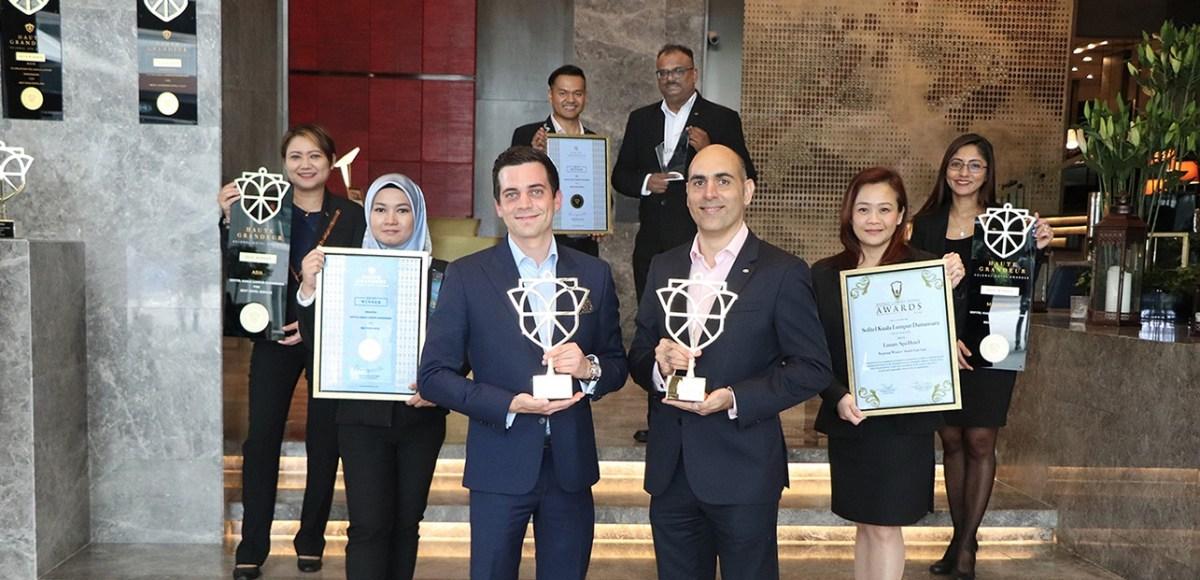 Thirteen Awards & Accolades For Sofitel Kuala Lumpur Damansara in 2019