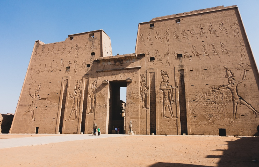 Edfu Temple (Photo by Samer Khodeir on Unsplash)