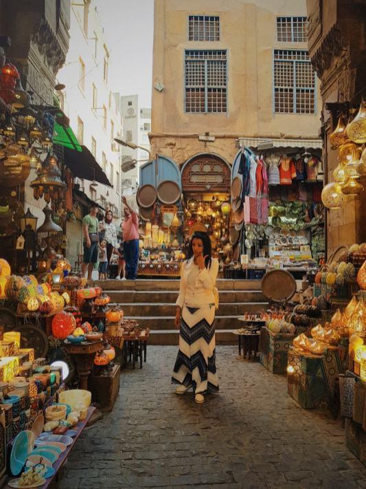 Khan el-Khalili Market, Old-Cairo.