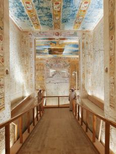 The tomb of Ramses IV at Valley of the Kings, Luxor