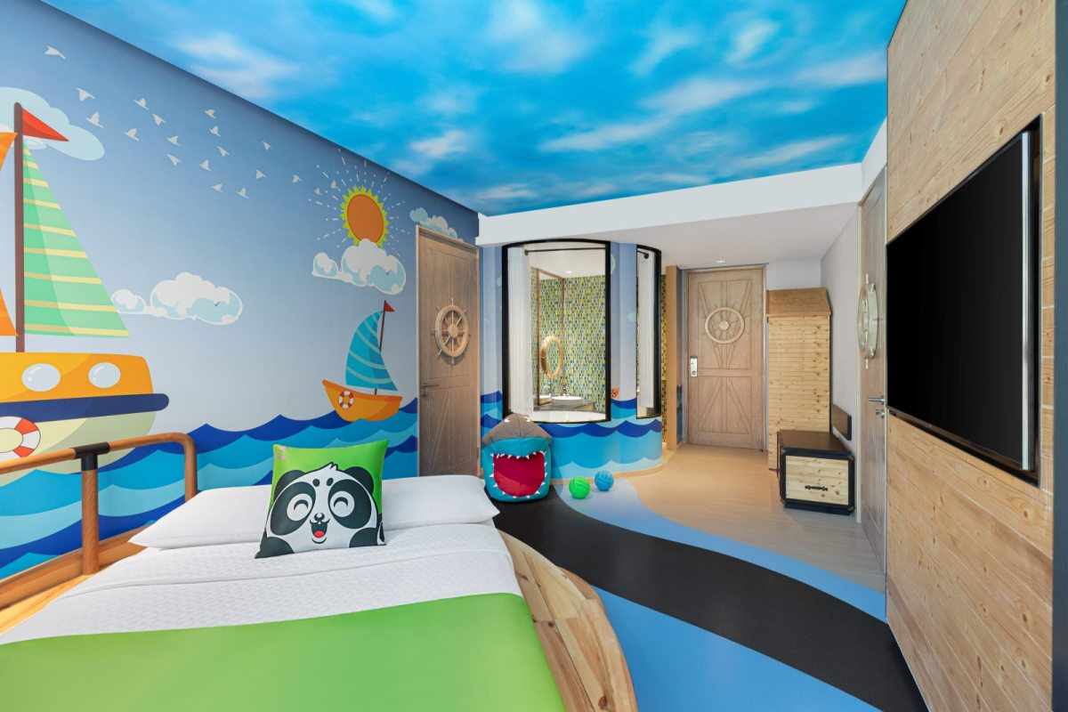 Four Points by Sheraton Phuket Patong Beach Resort's Kids Room