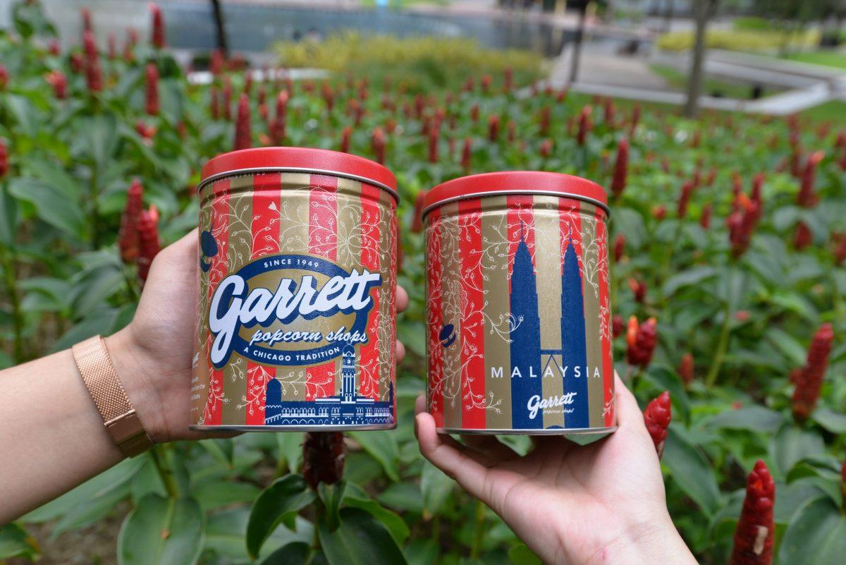Celebrate Hari Raya with Limited Edition Malaysia Petite Tin from Garrett Popcorn Shops®
