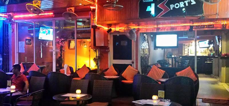 4 sport's bar, gay Bar Bangkok