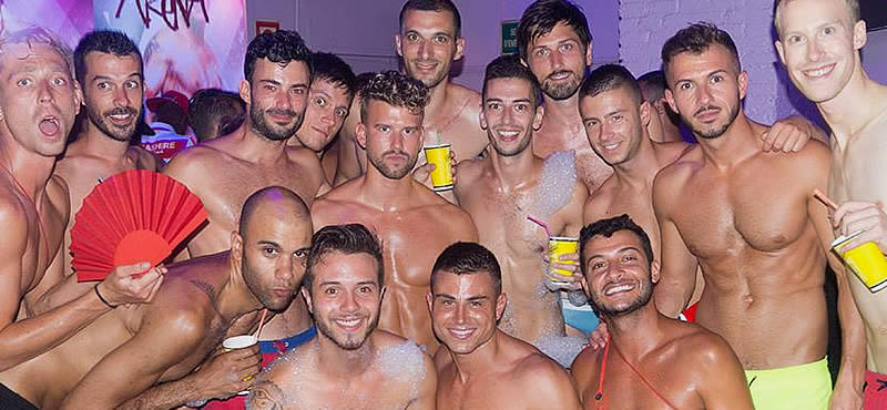 Foam Party Gay Barcelona