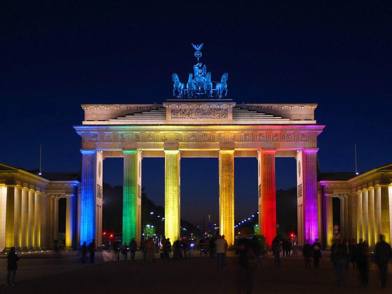 Brandenburg Gate  Gay Berlin