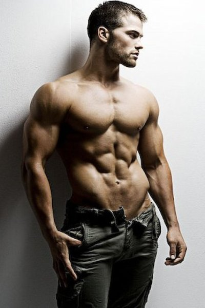 Jed Hill's Amazing Abs