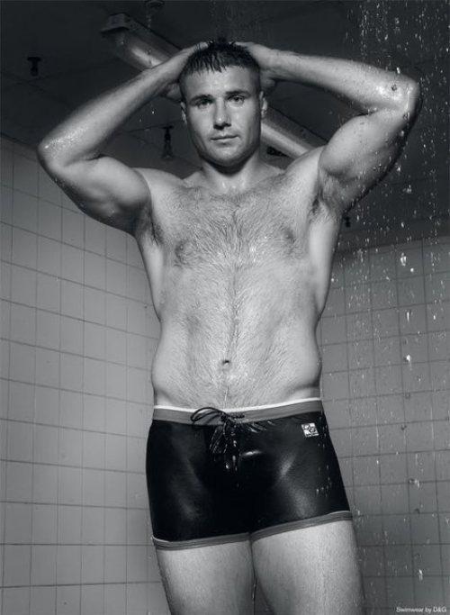 Ben Cohen - Wet Hairy Muscle Guy