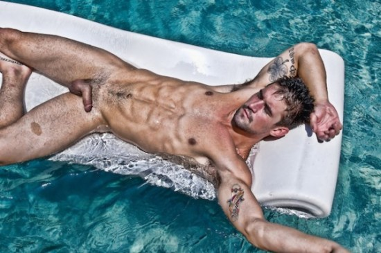 Benjamin Godfre nude by Carl Procter