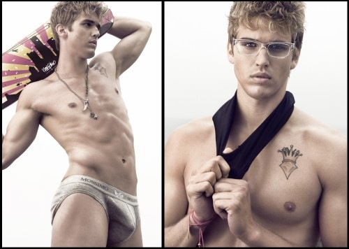 Young Male Model Stephan Hoffman