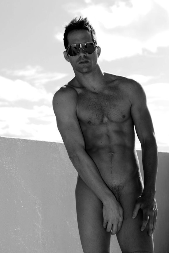 Hairy Steven Watson Naked By Shayne Fergusson