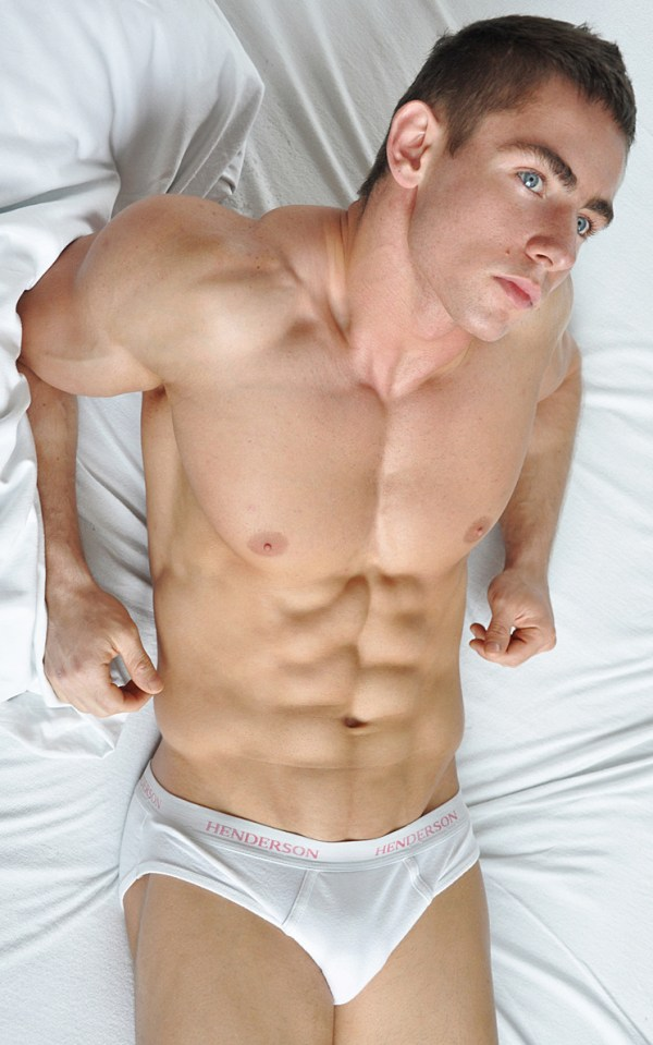 Muscled Male Model Lukasz Przybyla by Dominik Wiecek