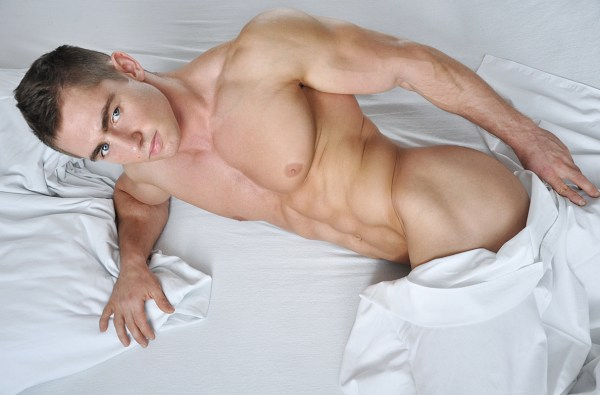 Handsome Polish Model Lukasz Przybyla by Dominik Wiecek