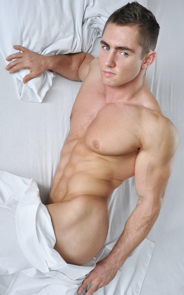 Teasing Male Model Lukasz Przybyla by Dominik Wiecek