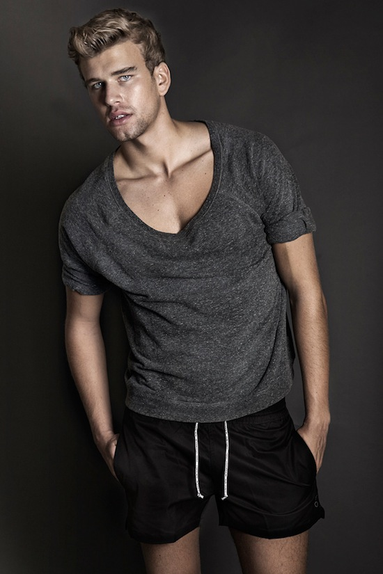 Sexy Young Model Corentin Grusson
