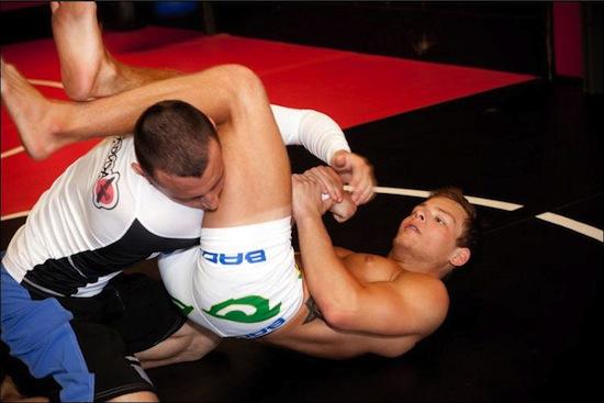 Jonathan Lipnicki - hunky wrestling action (6)