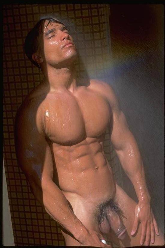 Nudes male iron man