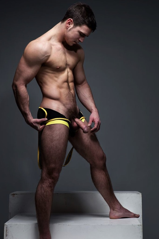 Naked hunks hairy muscle