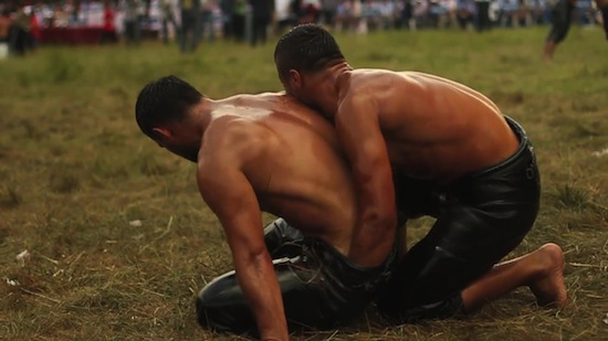 Turkish Male Oil Wrestling (1)