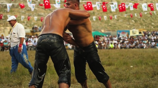 Turkish Male Oil Wrestling (5)