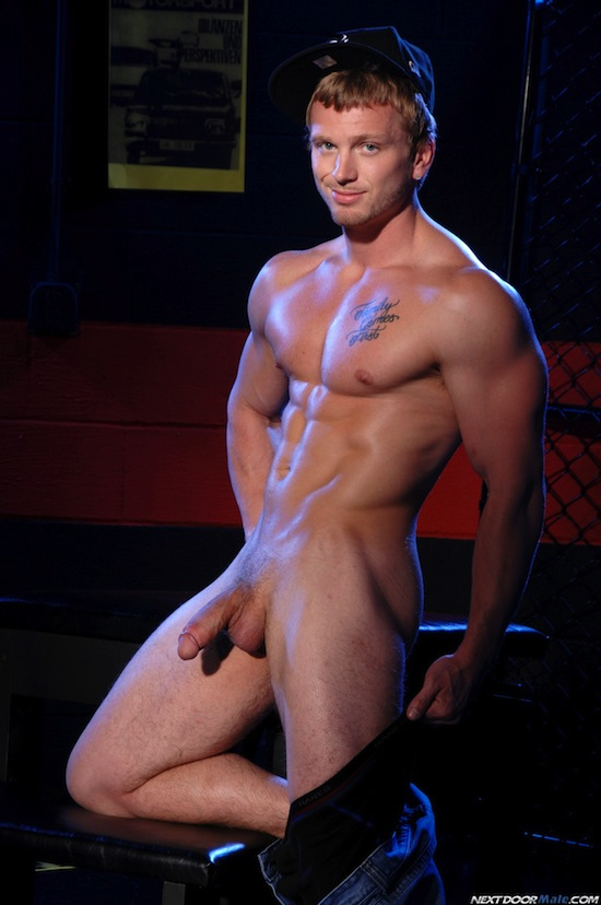 Solo Fun With Muscle Boy James Huntsman (8)