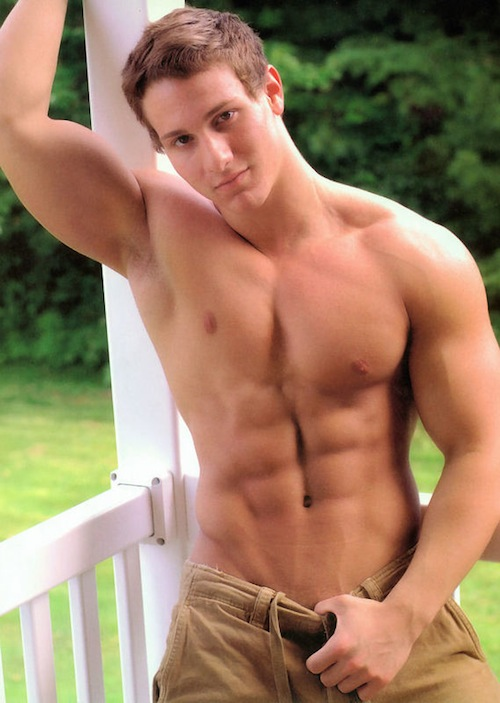 Gay male porn models