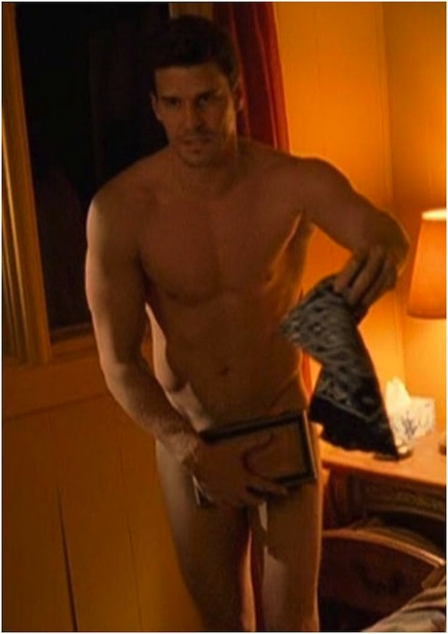boreanaz frontal nude David