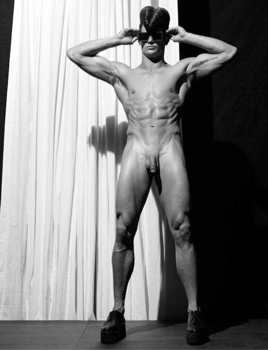 Naked steven model klein
