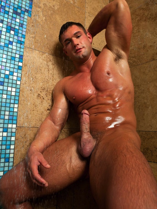 Brian and Brad Barnes - Twin Hunks Jerking (7)