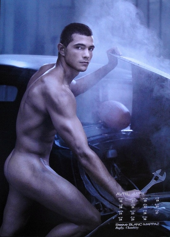 Steeve Blanc-Mappaz Naked - Dieux du Stade 2012 (1)